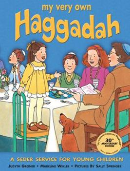 Paperback My Very Own Haggadah: A Seder Service for Young Children Book