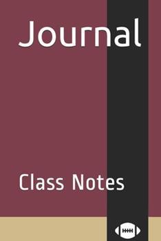 Paperback Journal : Class Notes Book