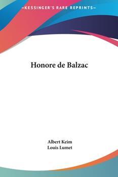Hardcover Honor? de Balzac Book