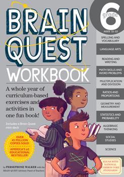 Paperback Brain Quest Workbook: 6th Grade Book