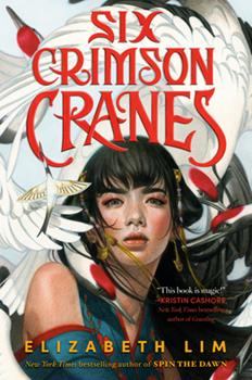 Hardcover Six Crimson Cranes Book