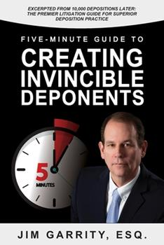 Paperback Five-Minute Guide to Creating Invincible Deponents Book