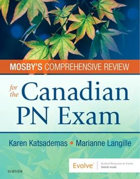 Paperback Mosby's Comprehensive Review for the Canadian PN Exam Book