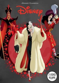 Hardcover Disney Classics: 3 Wicked Villains Book