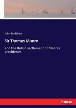 Sir Thomas Munro 3337403808 Book Cover
