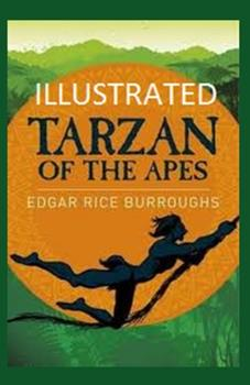 Paperback Tarzan of the Apes Illustrated Book