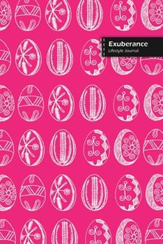 Print on Demand (Paperback) Exuberance Lifestyle Journal, Wide Ruled Write-In Dotted Lines, (A5) 6 X 9 Inch, Notebook, 288 Pages (144 Shts) (Pink) Book