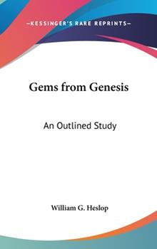 Hardcover Gems from Genesis: An Outlined Study Book