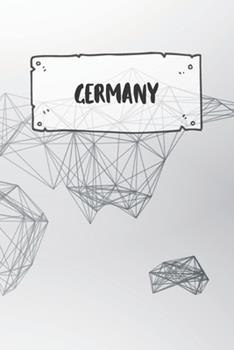 Paperback Germany : Dotted Travel Diary Notebook or Journey Dotted Grid Journal - Holiday Trip Pocketbook for Men and Women with Dots Book