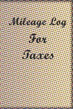 Paperback Mileage Log Book