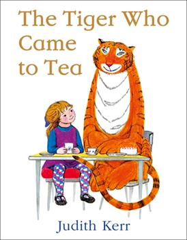 The Tiger Who Came to Tea 0007215991 Book Cover