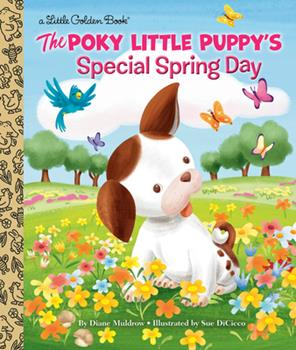 Hardcover The Poky Little Puppy's Special Spring Day Book