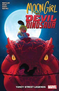 Moon Girl and Devil Dinosaur, Vol. 8: Yancy Street Legends - Book #8 of the Moon Girl and Devil Dinosaur