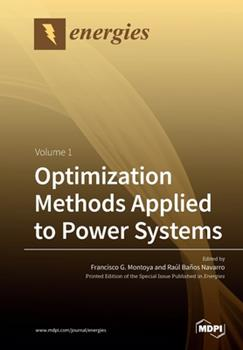 Paperback Optimization Methods Applied to Power Systems : Volume 1 Book