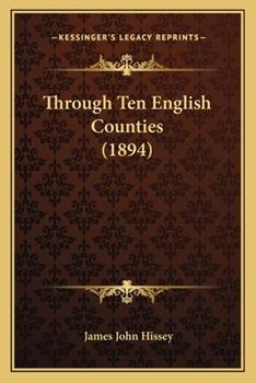 Paperback Through Ten English Counties Book