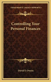 Hardcover Controlling Your Personal Finances Book