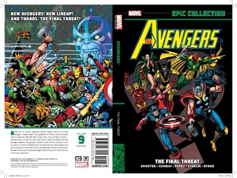Avengers Epic Collection: The Final Threat - Book  of the Avengers 1963-1996 #278-285, Annual