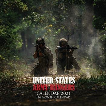 Paperback United States Army Rangers Calendar 2021: 16 Month Calendar Book