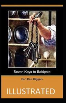 Paperback Seven Keys to Baldpate Illustrated Book