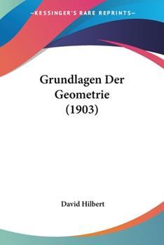 Paperback Grundlagen der Geometrie Book