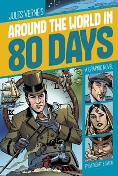 Around the World in 80 Days 1496503813 Book Cover