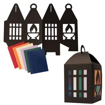 Hardcover Vacation Bible School (Vbs) 2021 Discovery on Adventure Island Paper Lantern Kit (Pkg of 12): Quest for God's Great Light Book