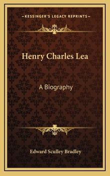 Hardcover Le Henry Charles : A Biography Book