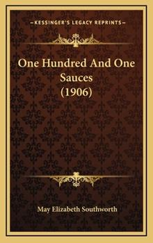 Hardcover One Hundred and One Sauces Book