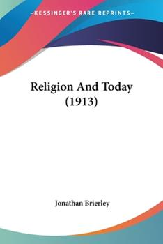 Paperback Religion and Today Book