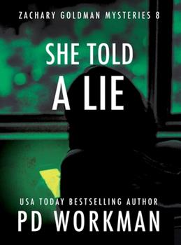 Hardcover She Told a Lie [Large Print] Book