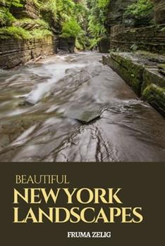 Paperback Beautiful New York Landscapes: An Adult Picture Book and Nature City Travel Photography Images with NO Text or Words for Seniors, The Elderly, ... For Easy Relaxation, Tranquility And Peace Book