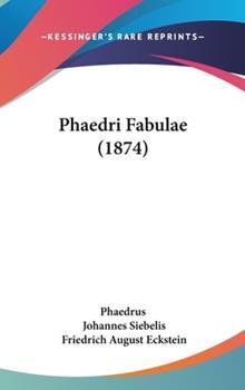Hardcover Phaedri Fabulae Book