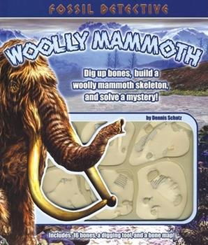 Fossil Detective: Woolly Mammoth (Fossil Detective) 1592233740 Book Cover