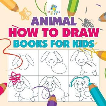 Paperback Animal How to Draw Books for Kids Book