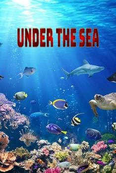 Paperback Under the sea: Some of our beautiful swimming friends. Book