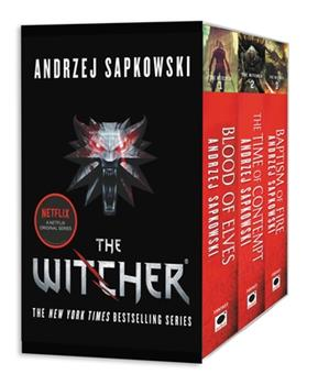 The Witcher Boxed Set: Blood of Elves, The Time of Contempt, Baptism of Fire - Book  of the Witcher