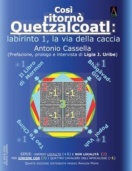 Paperback Cos? Ritorn? Quetzalcoatl : Labirinto 1, la Via Della Caccia [Italian] Book