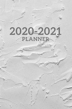 Paperback 2020-2021 Yearly, Monthly, Weekly Calendar Planner Book