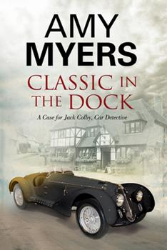 Hardcover Classic in the Dock : A Classic Car Mystery Book