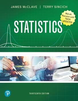Statistics Mylab Revision with Tech Updates [rental Edition] 0135820103 Book Cover