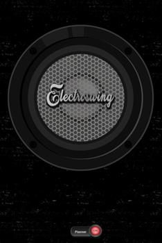 Paperback Electroswing Planner : Boom Box Speaker Electroswing Music Calendar 2020 - 6 X 9 Inch 120 Pages Gift Book