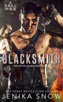 Paperback Blacksmith (A Real Man, 10) Book