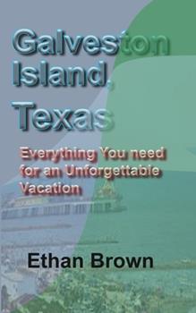 Paperback Galveston Island, Texas Book