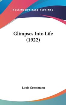 Hardcover Glimpses into Life Book