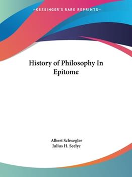 Paperback History of Philosophy In Epitome Book