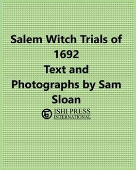 Paperback Salem Witch Trials 1692 Book
