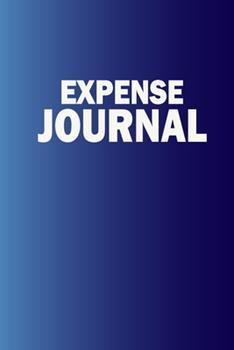 Paperback Expense Journal Book