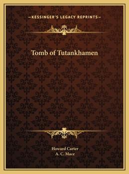 Hardcover Tomb of Tutankhamen Book