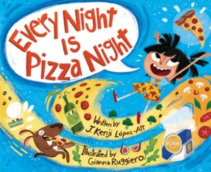 Hardcover Every Night Is Pizza Night Book