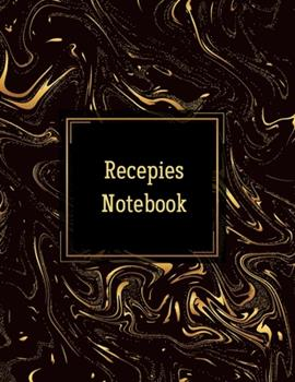 Paperback Recepies Notebook : Make Your Own Cookbook. on Food and Cooking. Recipe Journal Simple (Recipe for Success Notebook). Book